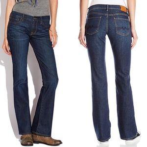 🍀Lucky Brand🍀 Sweet'n Low Bootcut Dark Jeans EUC